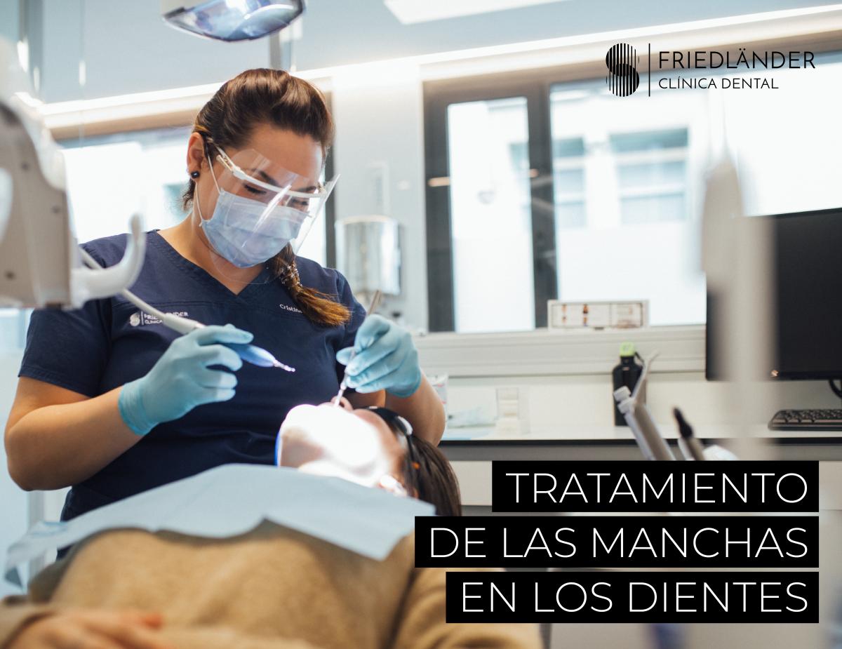 Manchas en los dientes: causas, tipos y cómo prevenirlas. 3