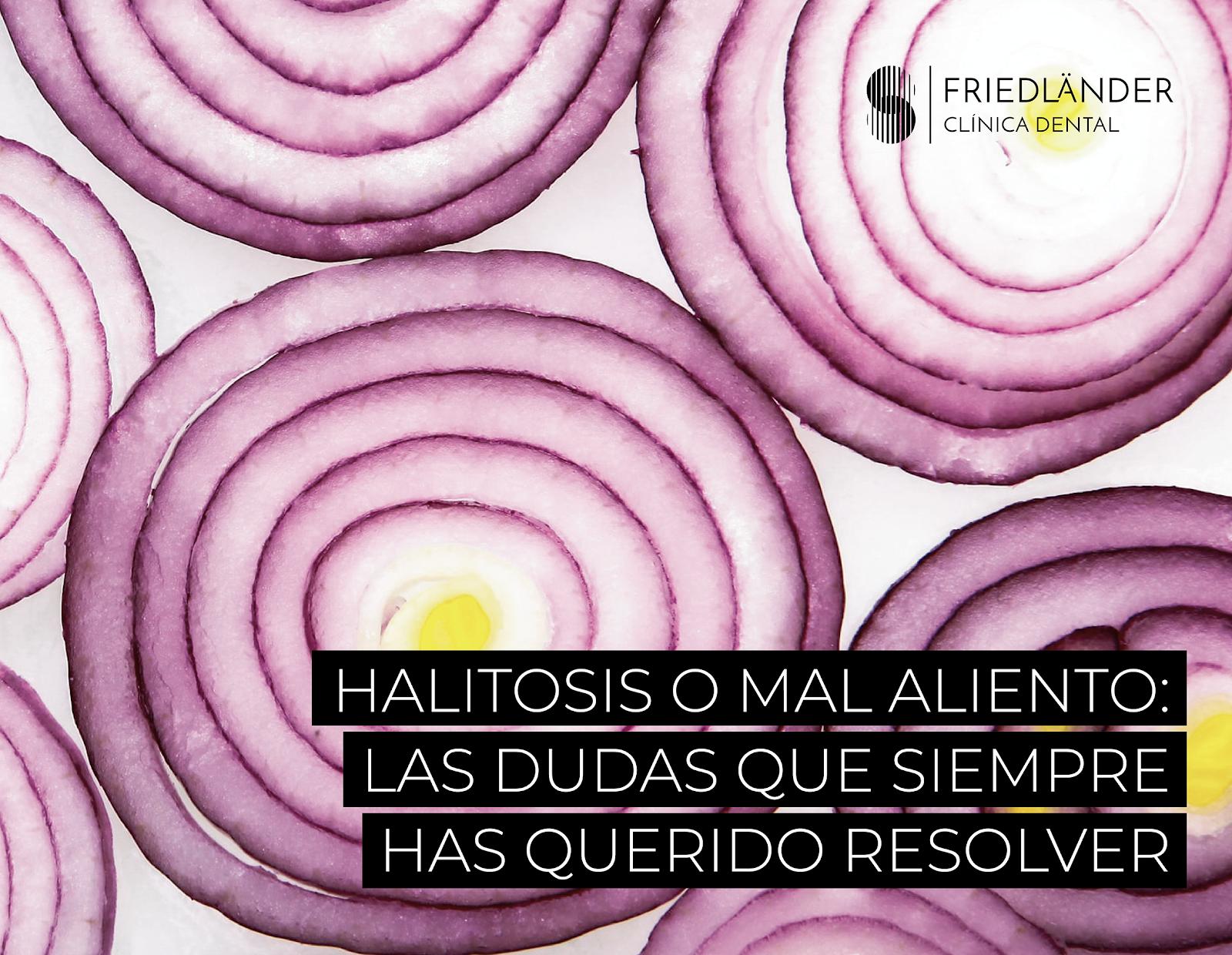 Halitosis: Qué es y remedios para minimizar su impacto. 1