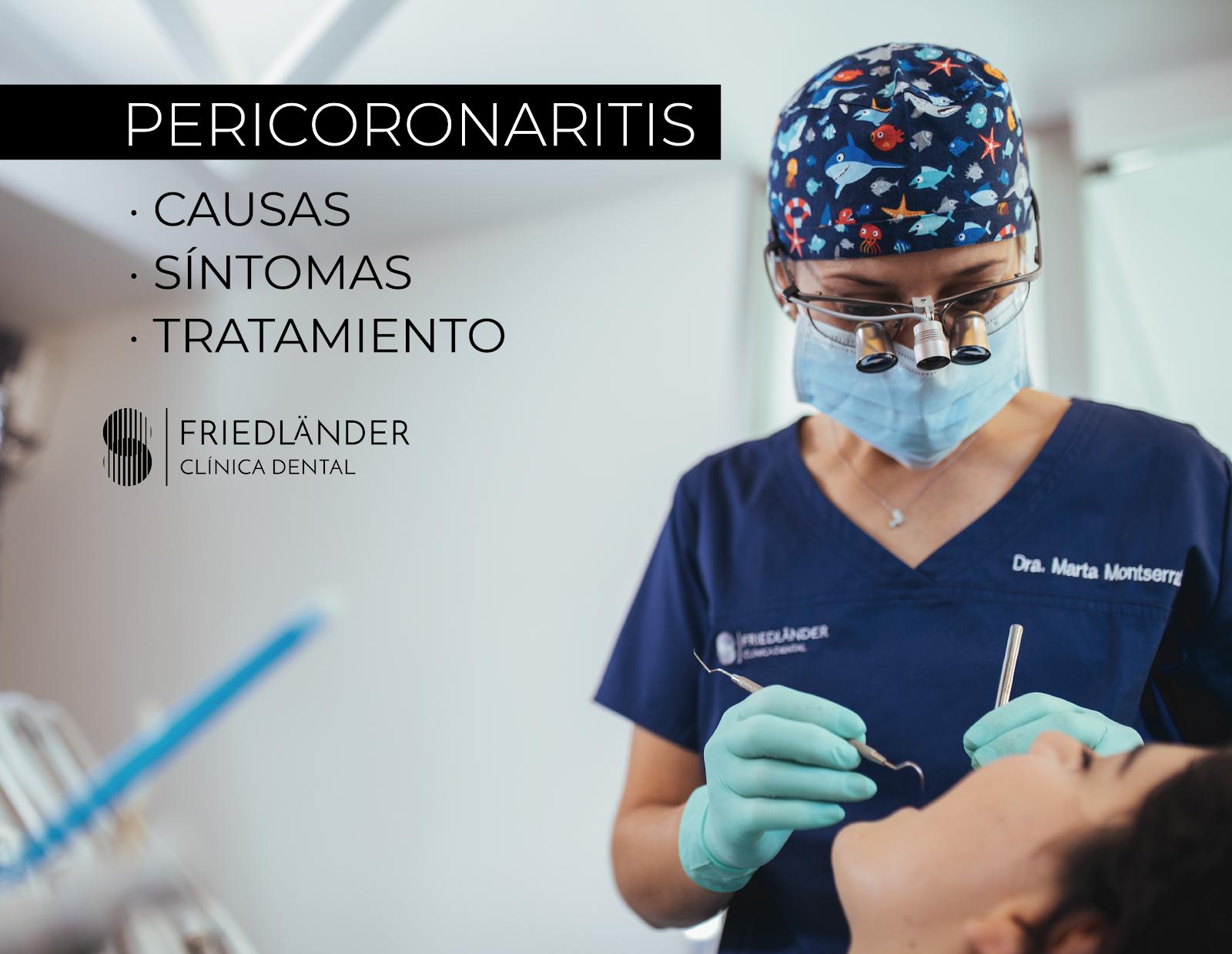 ¿Qué es la pericoronaritis? causas y tratamiento 1