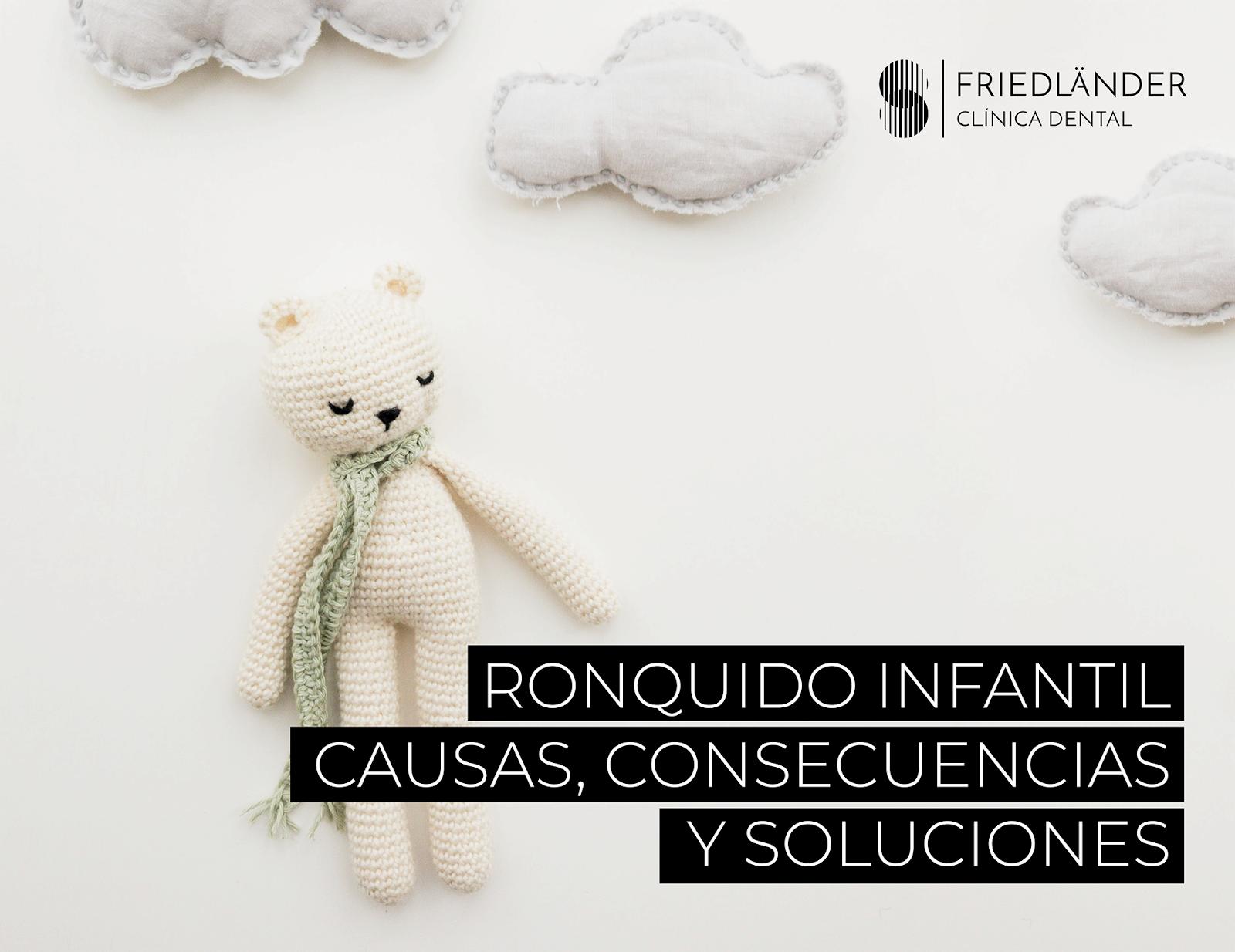 Ronquido en niños: causas, consecuencias y soluciones. 1