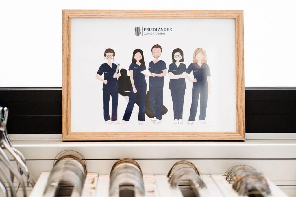 equipo de ortodoncistas barcelona